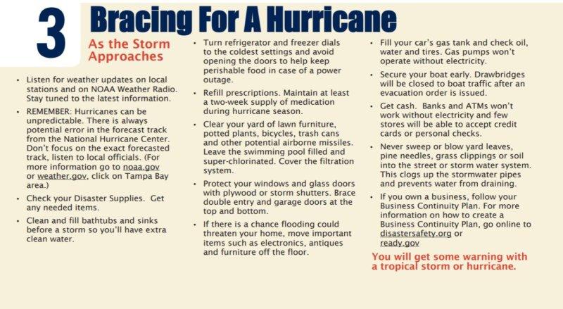 Disaster Preparedness - 3 Final Preparation