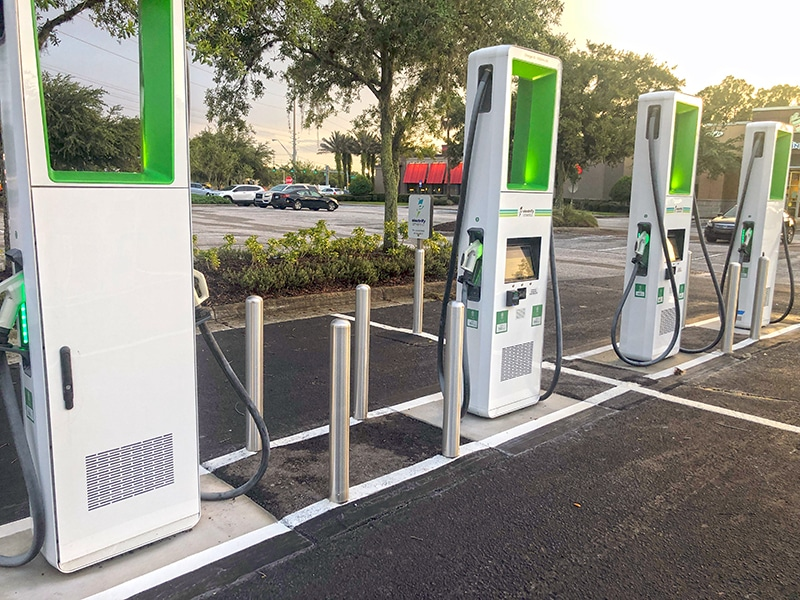 Electric Vehicle Charging Locations