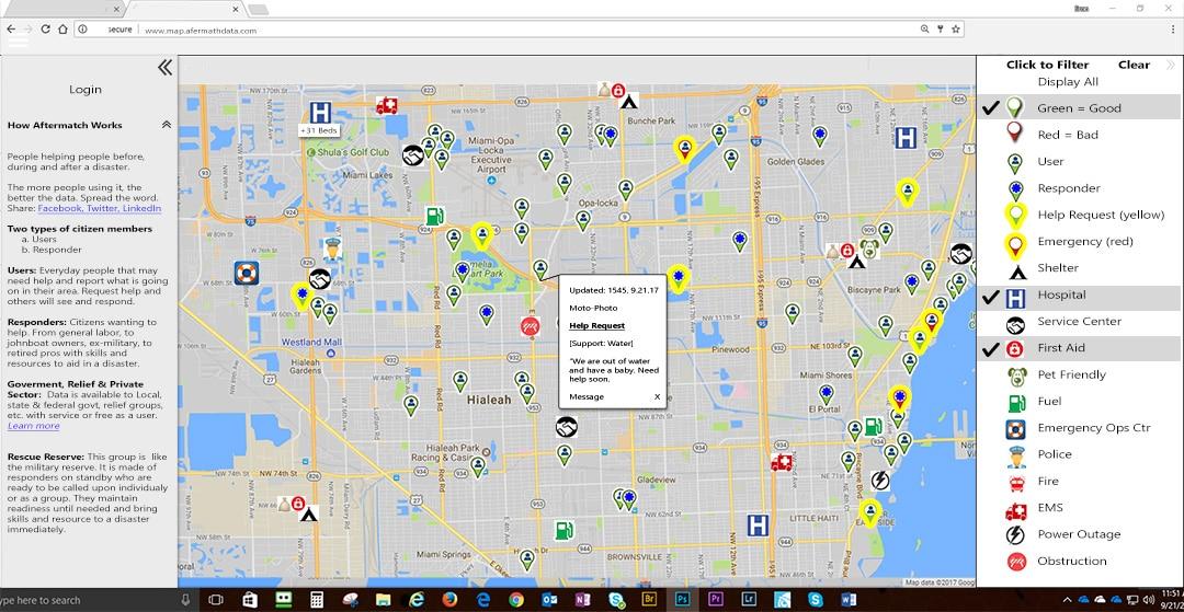 Emergency Management Map
