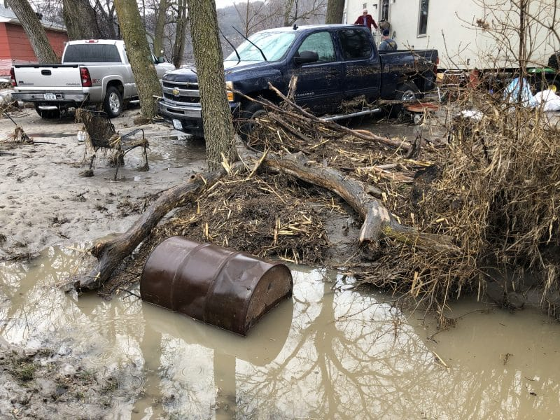 Aftermath is available to FEMA, Department of Homeland Defense as well asl county agencies