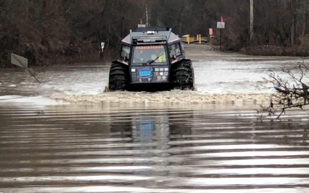 SherpATV Rscue Vehicle